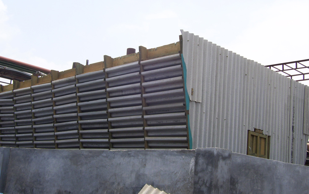 Timber Cross Flow Cooling Tower Maintenance Free